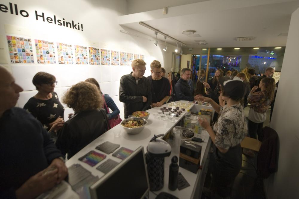 MFF2014 opening at Lasipalatsi gallery