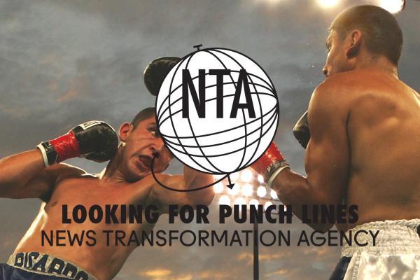 NTA punch lines - boxers