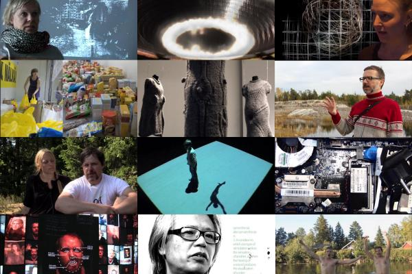 Media artist of the month thumbnail grid